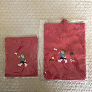 familiar - ファミリア 巾着 シューズケース
