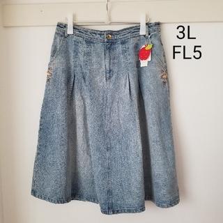 franche lippee - 【フランシュリッペ】ベビラビデニムスカート♡うすめ♡
