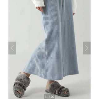 ローズバッド(ROSE BUD)の★新品★ローズバッド ROSEBUD コーデュロイスカート(ロングスカート)