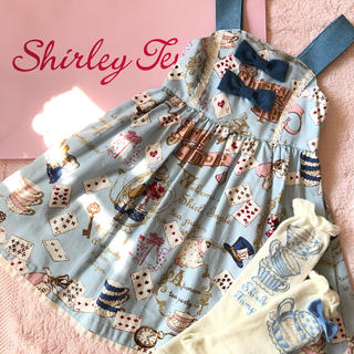 Shirley Temple - シャーリーテンプル パーティーインビテーション ジャンパースカート110