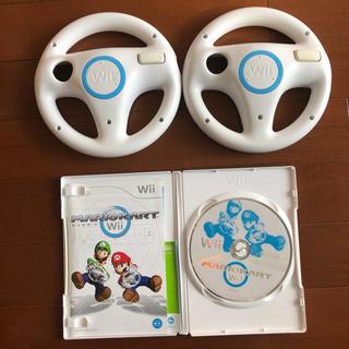 任天堂 - Wii マリオカート ソフト ハンドル セット