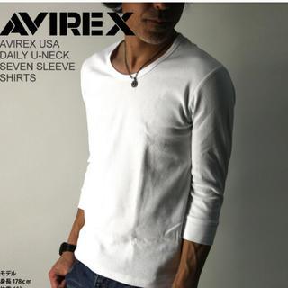 AVIREX - 新品未着用 アビレックス 大人気デイリーシリーズの7分袖カットソー
