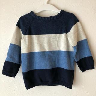 H&M - H&M 80サイズ 綿100% ファインニットセーター