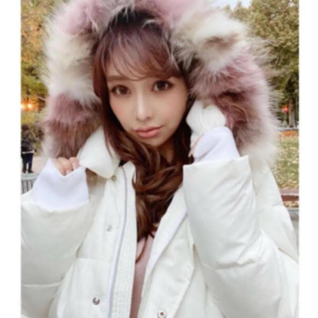 eimy istoire(エイミーイストワール)の完売eimy istoireミックスファーダウン レディースのジャケット/アウター(ダウンジャケット)の商品写真