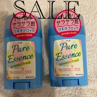 ピュアエッセンス powder freshの香り 42g 2本セット
