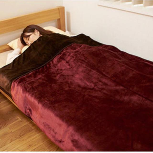 山善(ヤマゼン)の山善 洗えるふんわりあったか電気毛布 スマホ/家電/カメラの冷暖房/空調(電気毛布)の商品写真
