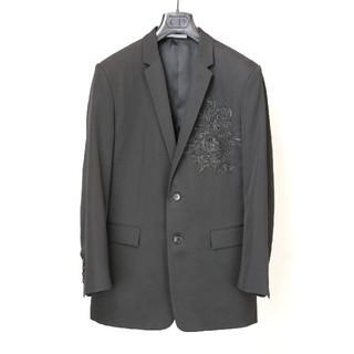 DIOR HOMME - 国内正規品 18ss Dior homme 薔薇刺繍 ジャケット 黒