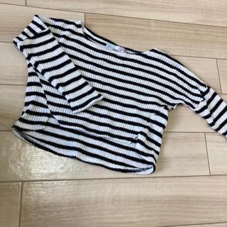スナイデル(snidel)のスナイデル ボーダーニット 100(Tシャツ/カットソー)