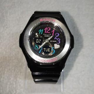 ベビージー(Baby-G)のみぃすけさん専用 カシオ Baby-G BGA-101-1BJF(電池交換済み)(腕時計)
