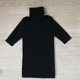 バーニーズニューヨーク(BARNEYS NEW YORK)のバーニーズニューヨーク  黒 未使用 セーター(ニット/セーター)