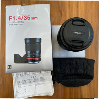 Canon - 値下げ!SAMANG,F1.4/35mm Canon用レンズ
