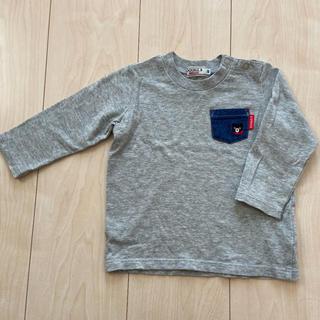 DOUBLE.B - ダブルビー ロンT Tシャツ 80cm