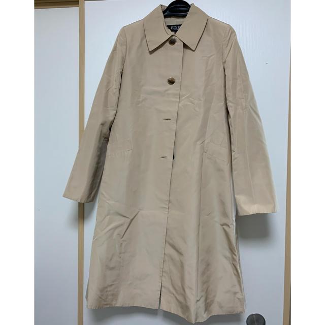 FOXEY(フォクシー)のFOXEY ベージュ トレンチコート  レディースのジャケット/アウター(トレンチコート)の商品写真