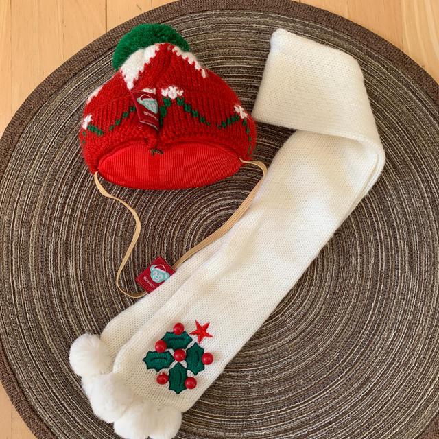 Disney(ディズニー)のダッフィー  クリスマスコスチューム エンタメ/ホビーのおもちゃ/ぬいぐるみ(ぬいぐるみ)の商品写真