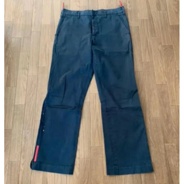 PRADA(プラダ)のprada sport Track-Pants 90s vintage メンズのパンツ(ワークパンツ/カーゴパンツ)の商品写真