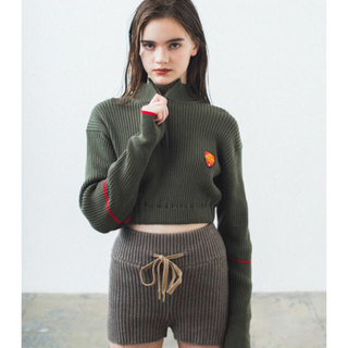Heather Knit Shorts ( juemi )