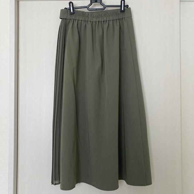 GU(ジーユー)のコンビネーションプリーツスカート(GU) レディースのスカート(ロングスカート)の商品写真