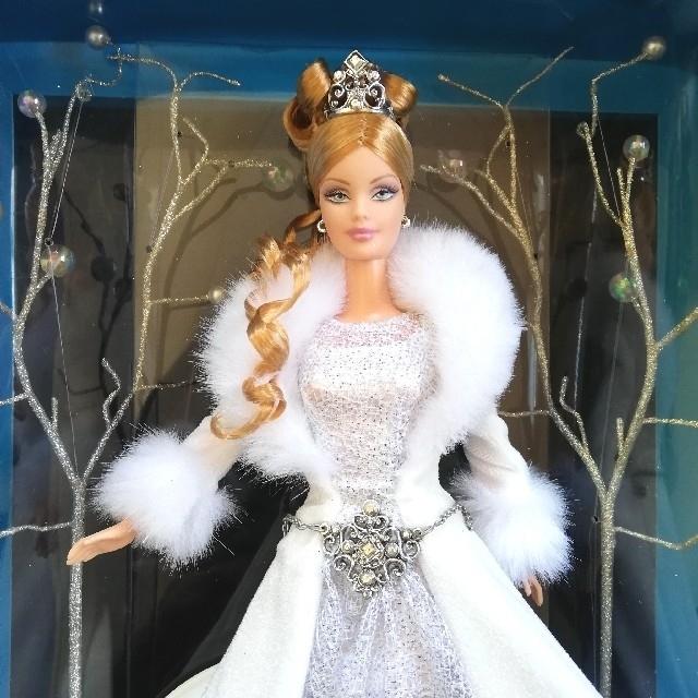 Barbie(バービー)のBarbie Holiday Visions Winter Fantasy キッズ/ベビー/マタニティのおもちゃ(ぬいぐるみ/人形)の商品写真