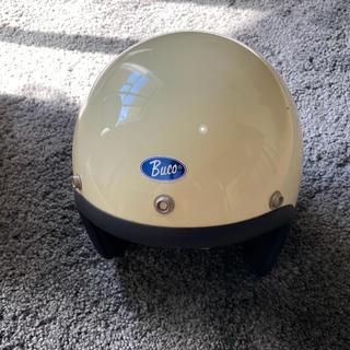 トイズマッコイ(TOYS McCOY)のBUCO ジェットヘルメット SMALL BUCO サイズ57.5 MEDIUM(ヘルメット/シールド)
