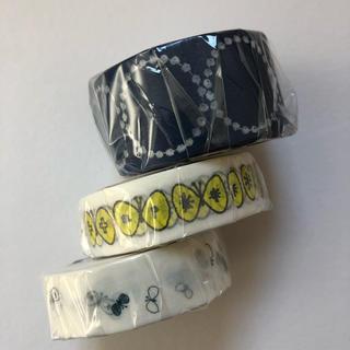 ミナペルホネン(mina perhonen)のmt  ミナペルホネン カモ井加工紙 マスキングテープ タンバリン チョウチョ(テープ/マスキングテープ)