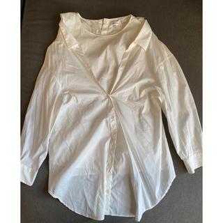 FRAY I.D - FRAY I.D  オフショルレイヤードシャツ