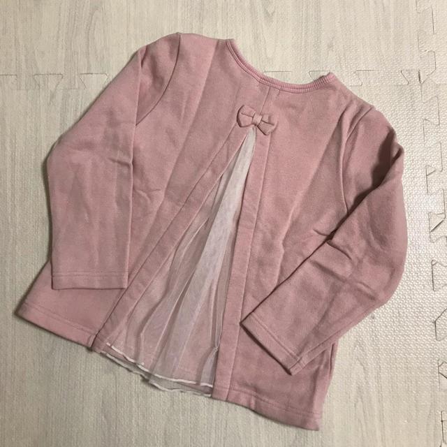 KP(ニットプランナー)のニットプランナー KP トレーナー 110 キッズ/ベビー/マタニティのキッズ服女の子用(90cm~)(Tシャツ/カットソー)の商品写真