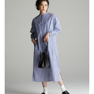 BEAMS BOY - koeバンドカラーシャツワンピースtodayfulイエナkbfザラroku金子綾