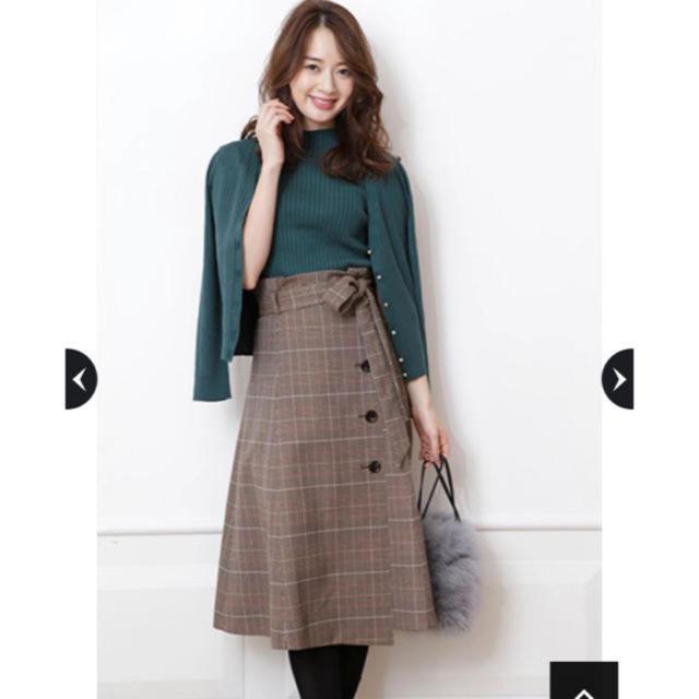 JUSGLITTY(ジャスグリッティー)のジャスグリッティー スカート レディースのスカート(ひざ丈スカート)の商品写真