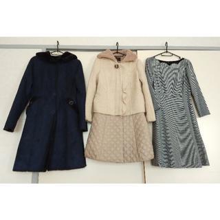 トッカ(TOCCA)の【1着可】トッカのコート2枚、ワンピース、セーター、スカート(ロングコート)
