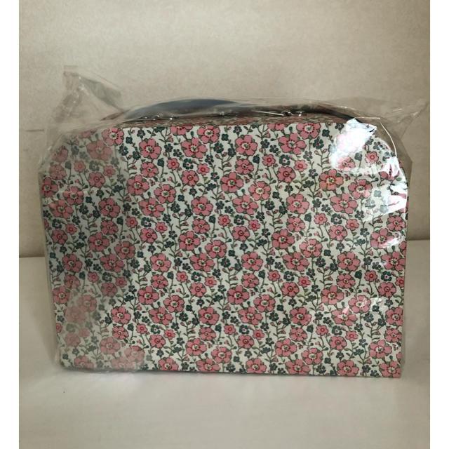 Bonpoint(ボンポワン)のボンポワン bonpoint ペーパートランク バッグ チェリー リバティ キッズ/ベビー/マタニティのこども用バッグ(その他)の商品写真