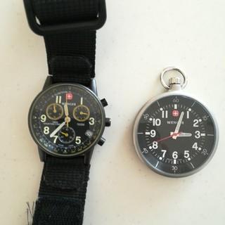Wenger - ウェンガー 時計 セット 左側のは現在止まってます
