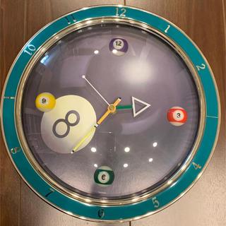 壁掛け 時計 ビリヤード(掛時計/柱時計)