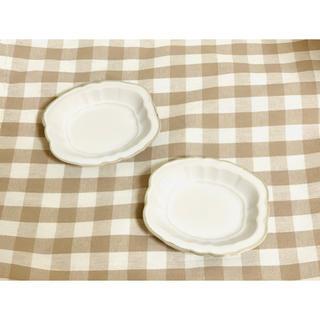 新品◆アンティーク風 小皿 2点セット【送料無料】(食器)