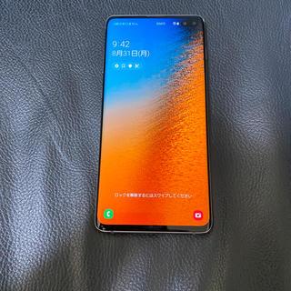 Galaxy - ジャンク au Galaxy S10+ SCV42  美品