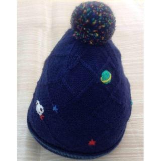 familiar - familiar ニット帽 ベビーキャップ S(1.5歳)02YE1027689