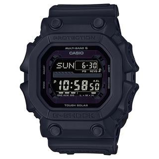 ジーショック(G-SHOCK)のカシオ G-SHOCK マッドレジスト 電波ソーラー 腕時計 ブラック(腕時計(デジタル))