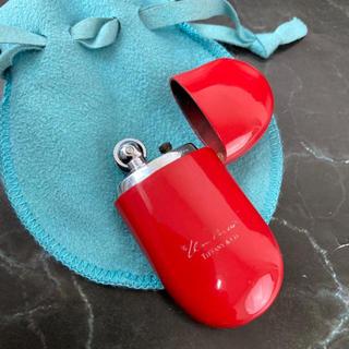 ティファニー(Tiffany & Co.)の☆決算セール☆ ティファニー ライター オイルライター ビーン レッド タバコ(タバコグッズ)