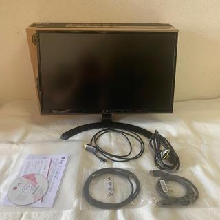 エルジーエレクトロニクス(LG Electronics)のLG 24UD58-B モニター ディスプレイ 24インチ HD IPS 4K (ディスプレイ)