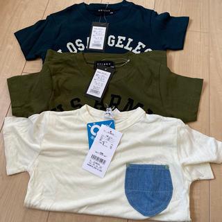 男の子Tシャツ110.120