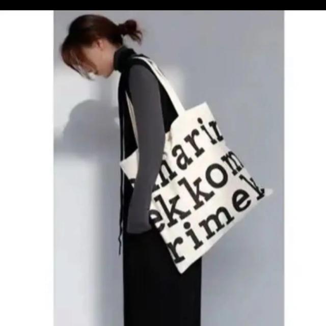 marimekko(マリメッコ)のマリメッコ かわいい トートバック エコバック 大容量 便利 学生 お洒落 レディースのバッグ(トートバッグ)の商品写真