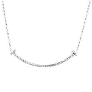 Tiffany & Co. - ティファニーTスマイル ペンダント ネックレス