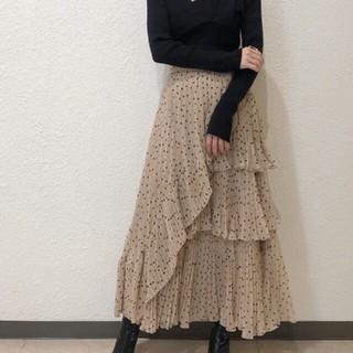 snidel - SNIDELスナイデル シアーボリュームプリーツスカート