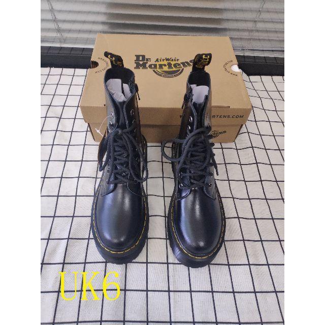 Dr.Martens(ドクターマーチン)のUK6☆大人気☆ Dr.Martens ドクターマーチン8ホール 厚底 正規品 レディースの靴/シューズ(ブーツ)の商品写真