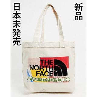 THE NORTH FACE - 新品 海外限定モデル ノースフェイス トートバッグ マルチカラー