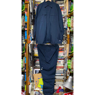 BEAMS - SSZ x AH.H work shirt work pant navy M