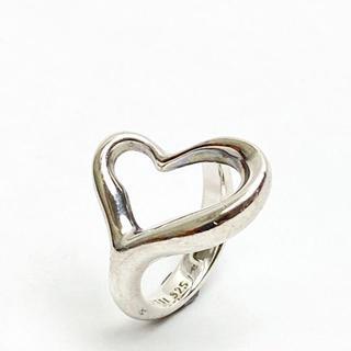 ティファニー(Tiffany & Co.)の【SALE】ティファニー ハート リング 指輪 SV925 シルバー 約9号(リング(指輪))