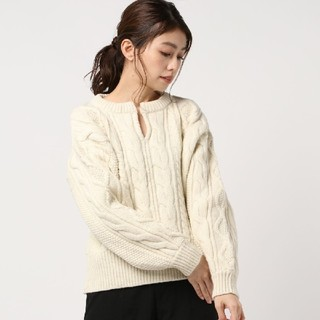 BEAUTY&YOUTH UNITED ARROWS - タグ付き 新品 オフホワイトニット