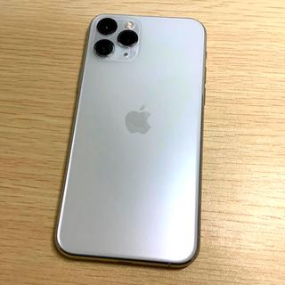 iPhone - 【美品】iPhone 11 Pro(Simフリー・64GB・シルバー)