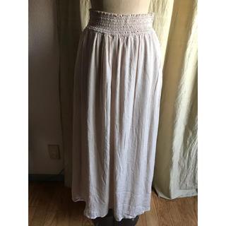 ラグナムーン(LagunaMoon)のLaguna moon 新品未着用品 クレープロングスカート(ロングスカート)