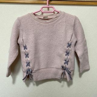 petit main - ☆中古品  100cm プティマイン トレーナー